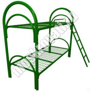 купит металлическую кровать с лестницей недорого москва