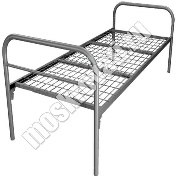 купить кровать металлическую одноярусную Москва недорого,кровати для рабочих, кровати для строителей