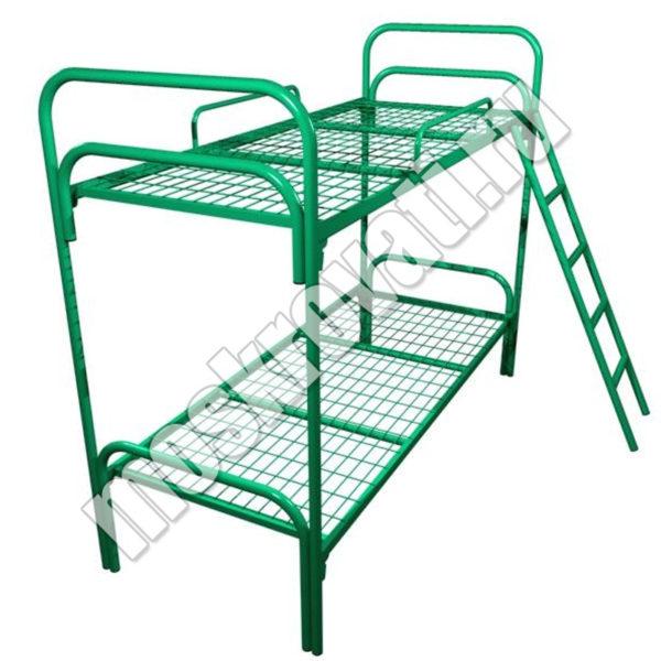 металлическая кровать с лестнице недорого москва