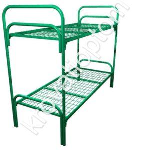 металлическая двухъярусная кровать для больниц, кровать для общежития, кровать для хостела