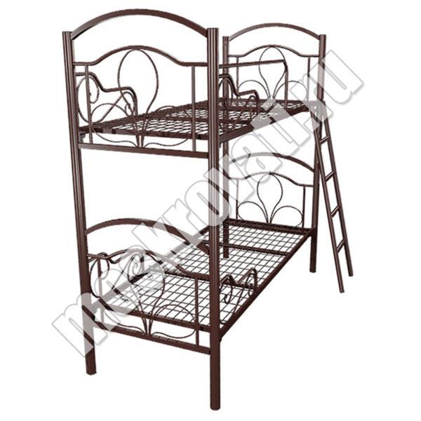 металлическая двухъярусная кровать
