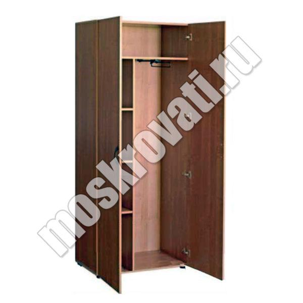 шкаф офисный комбинированный, полки для бумаг, секция для одежды. купить шкаф недорого москва
