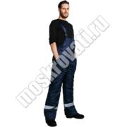 рабочий зимний костюм для строителей