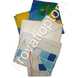 недорогой односпальный комплект постельного белья - простынь, наволочка, пододеяльник