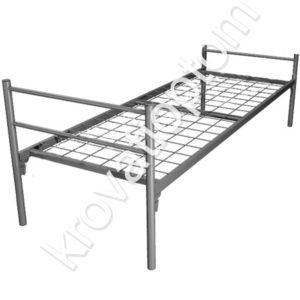 одноярусная металлическая кровать купить, кровати для рабочих, кровати для общежитий
