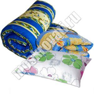 комплект белья одеяло матрас подушка