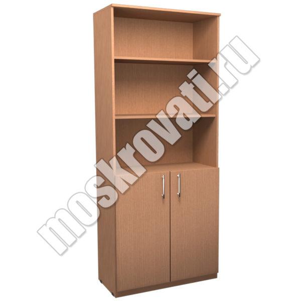 купить шкаф для документов в офис, шкаф с полками и дверцами, шкаф недорого москва