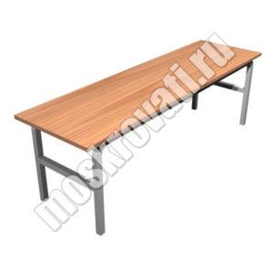 скамья для бытовок, купить скамейку на каркасе