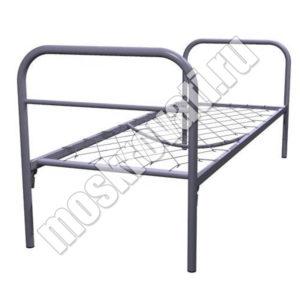 кровать металличнская одноярусная купить москва, кровати для рабочих недорого