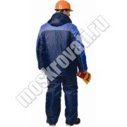 зимняя спецодежда, куртка и полукомбинезон для рабочих