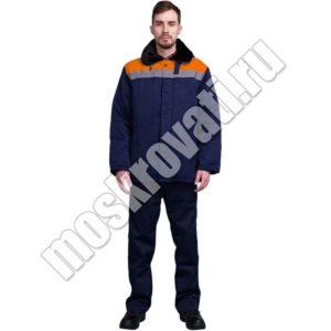 куртка теплая зимняя для рабочих