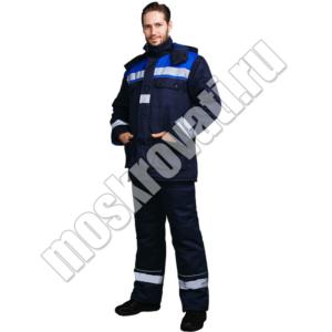 зимний теплый костюм для рабочих