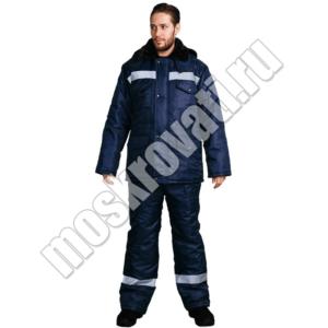 костюм зимний для строителей