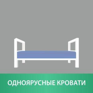 Одноярусные кровати